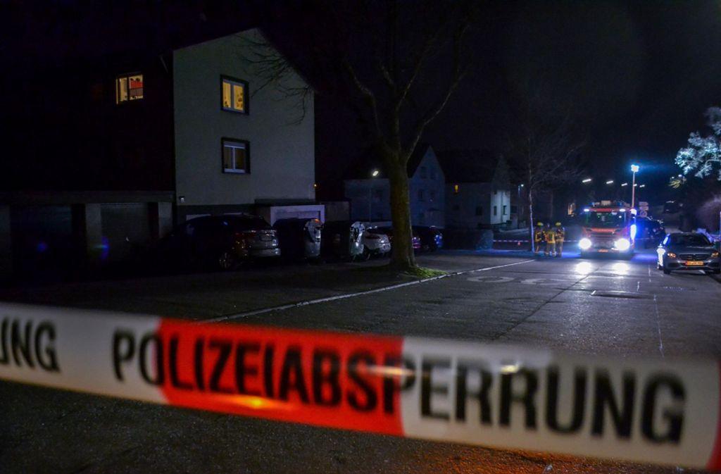 Polizeieinsatz in Mühlacker. Ein Ehemann soll seine Frau erstochen haben. Foto: 7aktuell.de/Igor Myroshnichenko