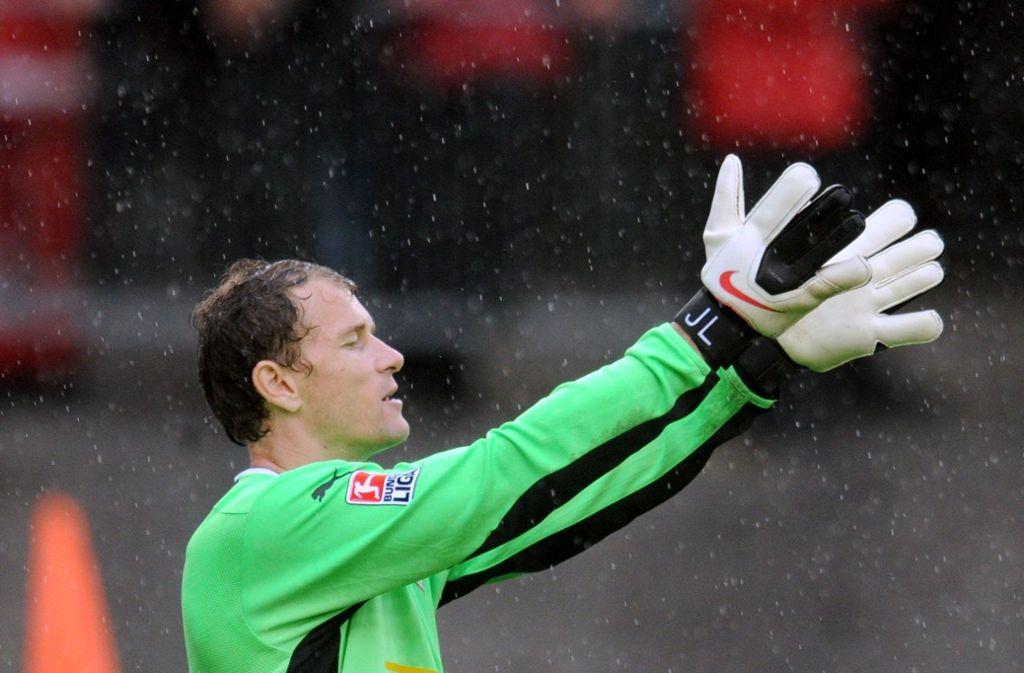 In Mainz ist der VfB-Torhüter Jens Lehmann schon einmal richtig ausgerastet. Foto: dpa