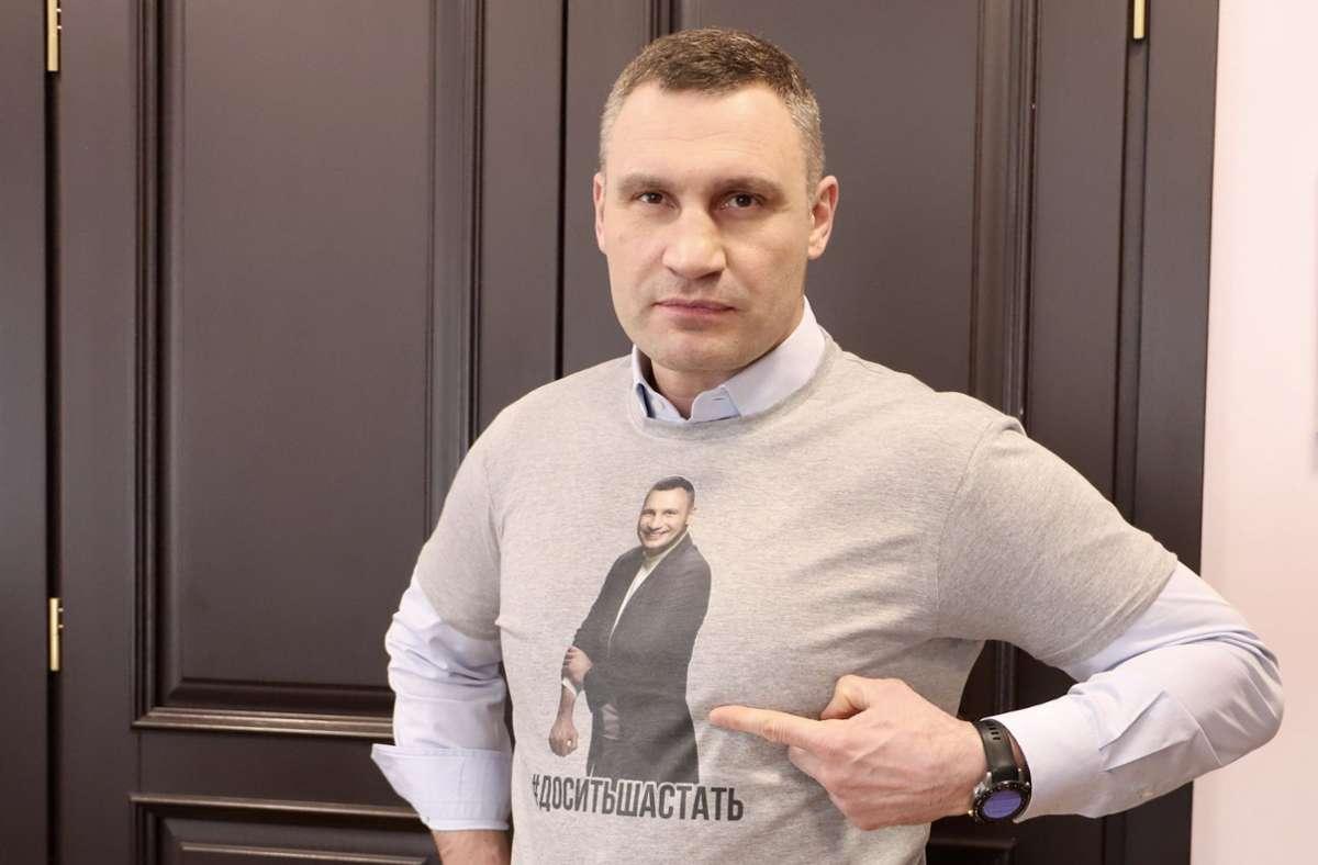 Vitali Klitschko wird die Drei-Millionen-Einwohnerstadt Kiew weitere fünf Jahre regieren. Foto: dpa/SAMSONOV