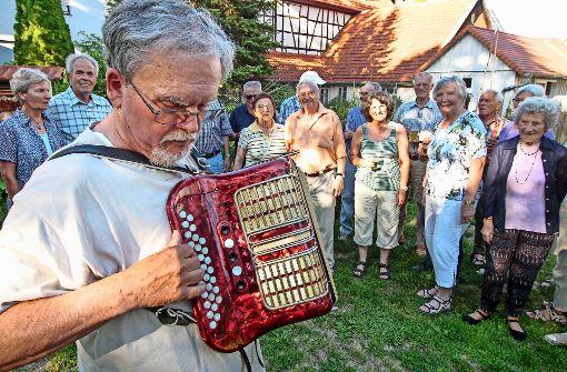 Aus Freude am Singen erwachen alte Melodien