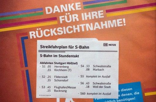 Stuttgart langsam streikerprobt