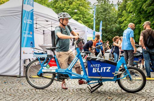 Stadt spendiert viel Geld  für Radkauf