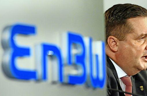 EnBW-Aktien holen  an Wert auf