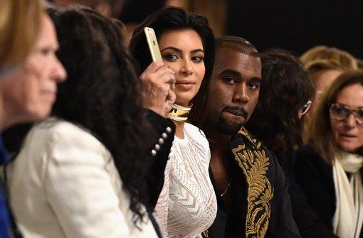 Kim Kardashian ganz nah am Catwalk
