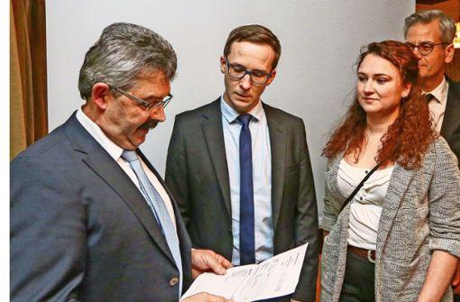 Florian Glock erhält absolute Mehrheit