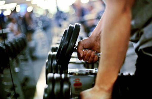 Deutschland  im Fitnessstudio