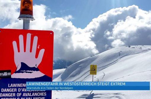 Wetterdienst rät Wintersportlern zu großer Vorsicht