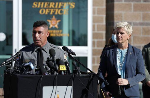 Polizei: Waffe am Set enthielt scharfe Munition