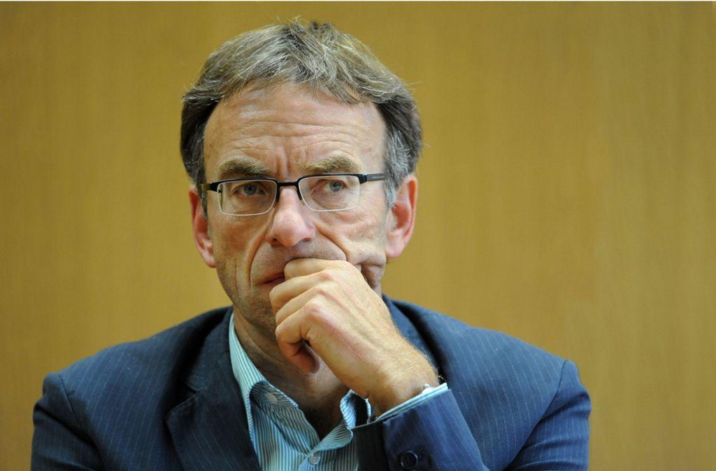 Bürgermeister Werner Wölfle (Grüne) gerät immer mehr unter Druck. Foto: dpa