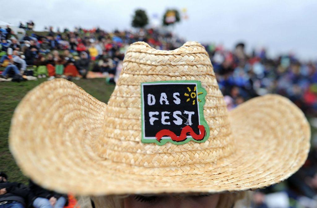 """In Karlsruhe findet an diesem Wochenende """"Das Fest"""" statt. Foto: dpa"""