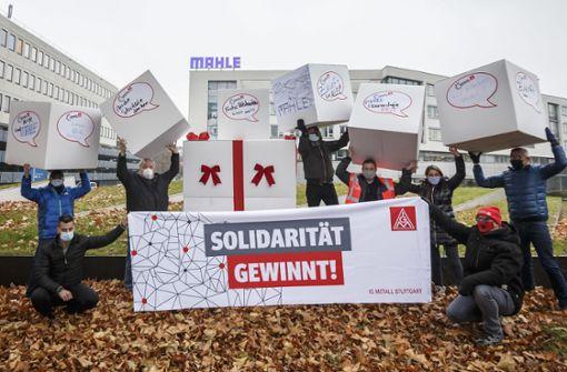 Eine Demo ohne Demonstranten
