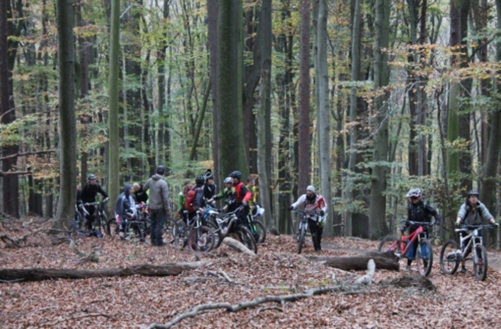 Mountainbiker, die gerne  bergab sausen, hoffen auf eine legale Strecke. Foto: Uhlenbusch