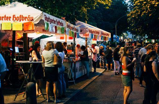 Mehr Security beim Stuttgarter Bohnenviertel-Fest