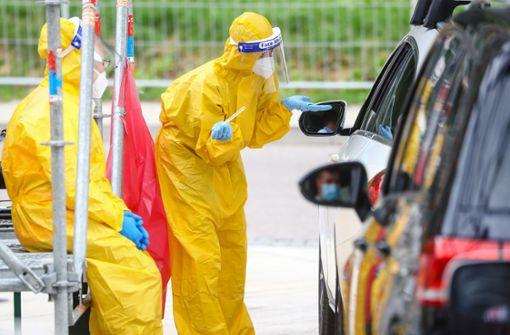 Inzwischen mehr als 50000 Corona-Infizierte im Land