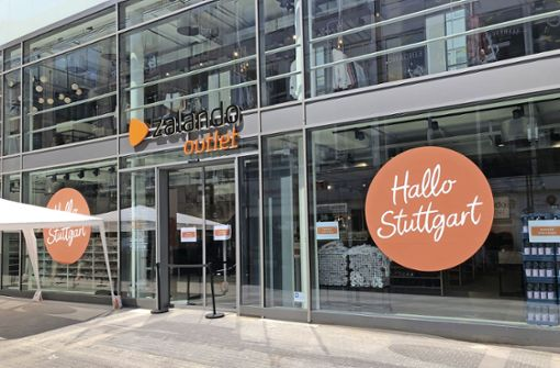 Zalando eröffnet seinen Store in der City