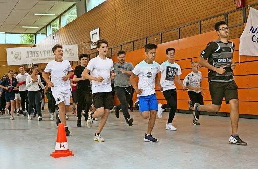Sie joggen und sprinten für Braunsbach