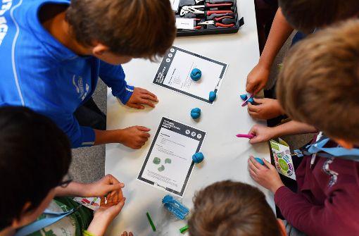 Schüler in Deutschland sind gut in der Teamarbeit