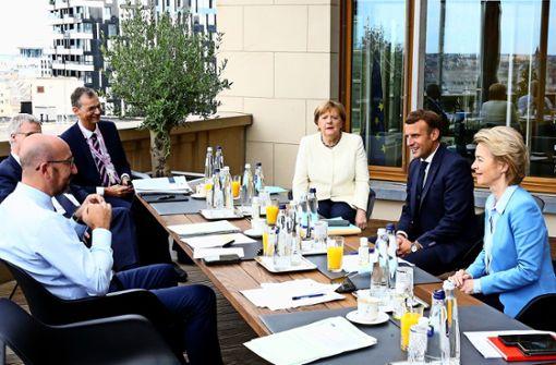 Nervenprobe beim EU-Sondergipfel