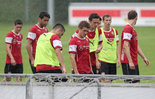 Timo Werner trainiert individuell