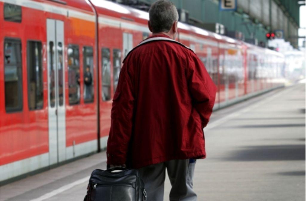 Vom 28. März an fahren von Ludwigsburg keine S-Bahnen mehr  Richtung Bietigheim. Foto: Avanti