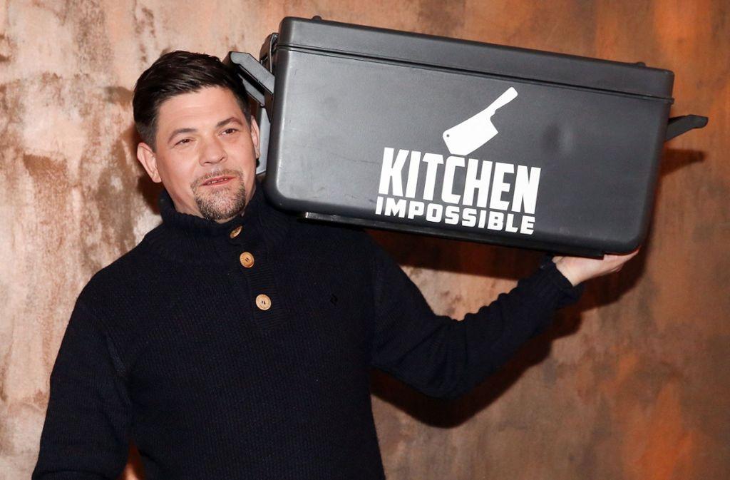 """Das Erfolgsformat """"Kitchen Impossible"""" mit Tim Mälzer ist eines der Zugpferde von Vox. Foto: dpa"""