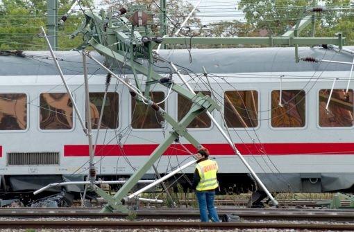 Bahnverkehr bis Montag beeinträchtigt