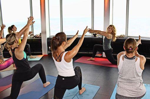 Lust auf Yoga auf dem Fernsehturm?