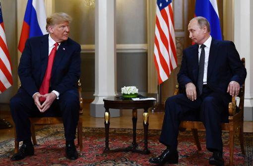 Trump sagt Treffen mit Putin ab
