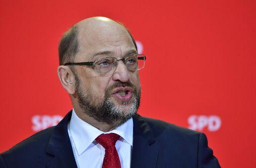 Schulz: SPD-Mitglieder entscheiden über Regierungsbeteiligung