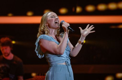 Louise Mayer bei The Voice of Germany