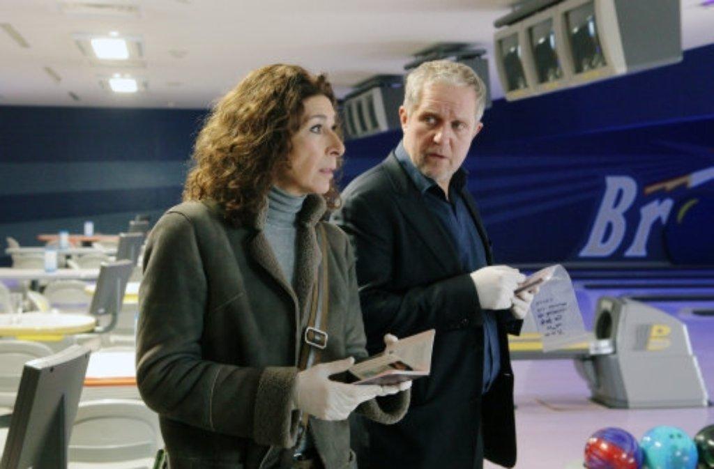 Wien: Moritz Eisner (Harald Krassnitzer) und Bibi Fellner (Adele Neuhauser) machen am 31. August mit Paradies den Auftakt. In einer Nebenrolle: Der 84-jährige Peter Weck. Foto: ORF
