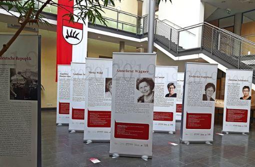 Rathaus würdigt Politikerinnen der letzten 100 Jahre