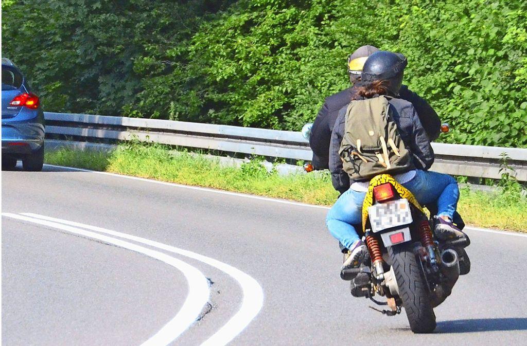 Insbesondere durch den Lärm durch Motorradfahrer fühlen sich die Anwohner in Büsnau gestört. Foto: Sandra Hintermayr