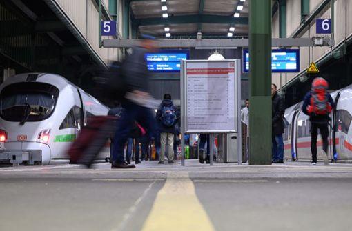 Fernverkehr hält wieder in Stuttgart