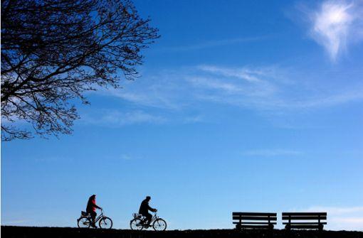 Fertig machen zur Radrundfahrt durch den Kreis