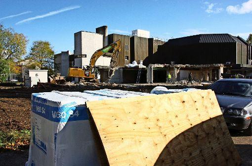 Der Umbau der Filderhalle verzögert sich