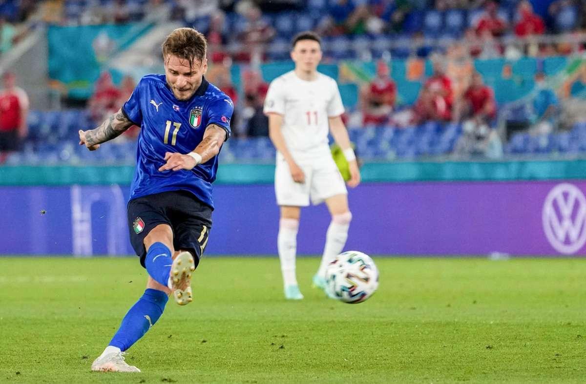 Italiens Ciro Immobile muss mit seiner Mannschaft gegen Österreich spielen. Foto:dpa Foto:
