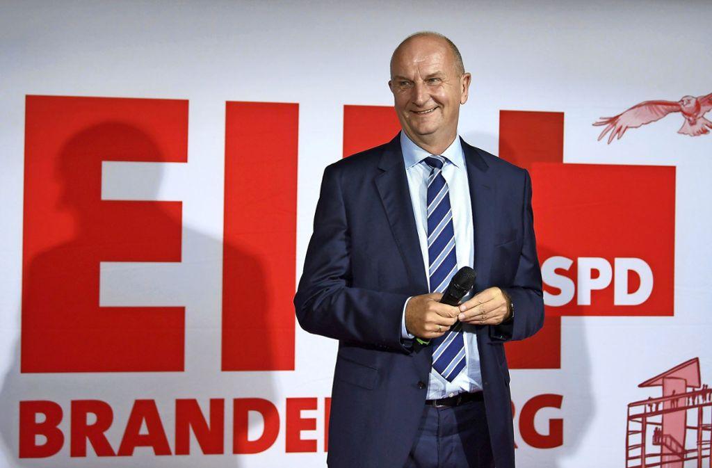 Dietmar Woidke bleibt Ministerpräsident von Brandenburg. Foto: dpa/Monika Skolimowska