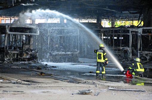 Großbrand im Bus-Depot ist kein Einzelfall