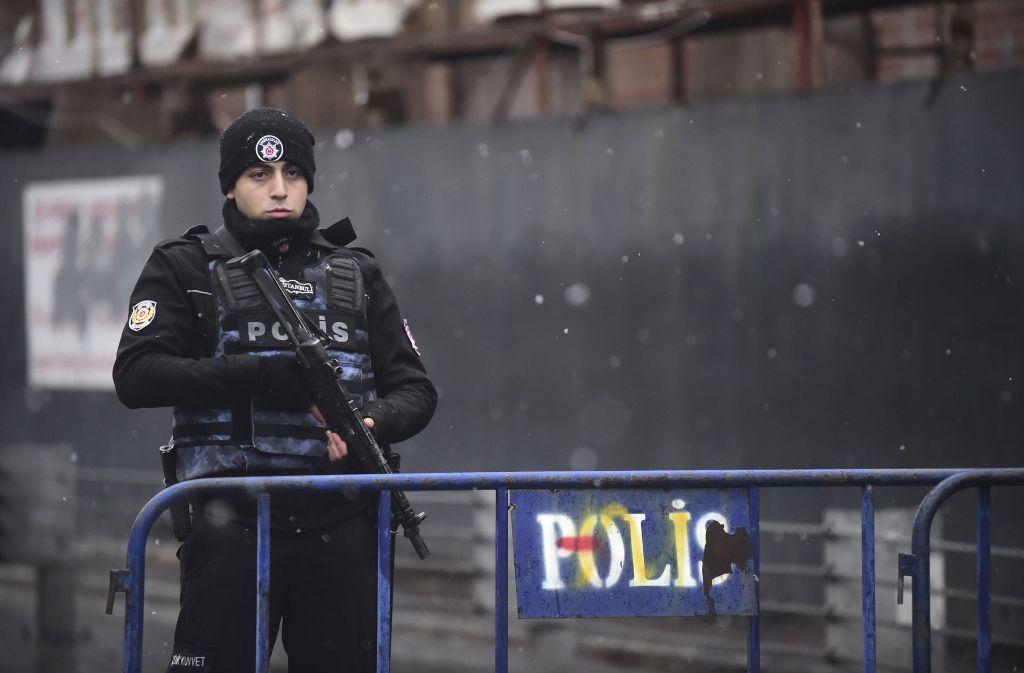 Nach dem Anschlag auf den Club Reina in Istanbul sind die Sicherheitskräfte alarmiert. Foto: AFP