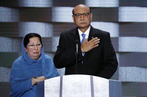 Trump beleidigt muslimische Eltern