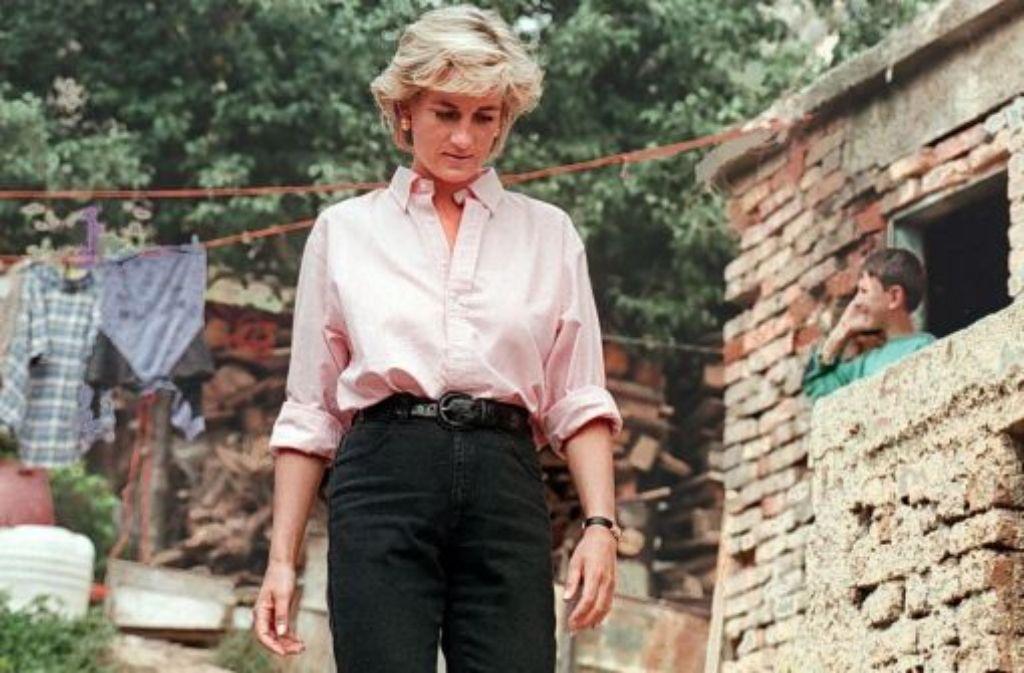 Prinzessin Diana - ihr Tod ist Anlass für unzählige Verschwörungstheorien. Foto: dpa