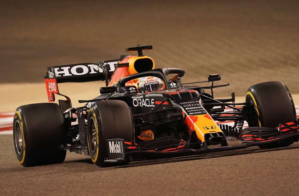 Max Verstappen schnappte sich die erste Pole-Position der Saison. Foto: dpa/Hasan Bratic