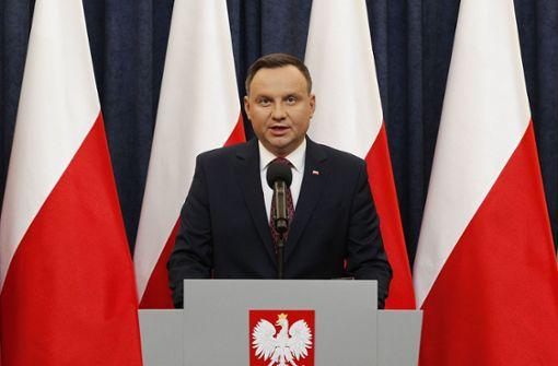 Polens Präsident will Holocaust-Gesetz unterzeichnen