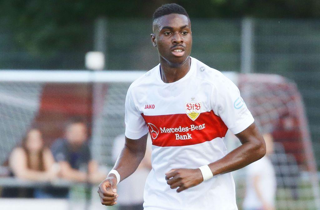Maxime Awoudja ist für die U21 des DFB nominiert. Foto: Pressefoto Baumann
