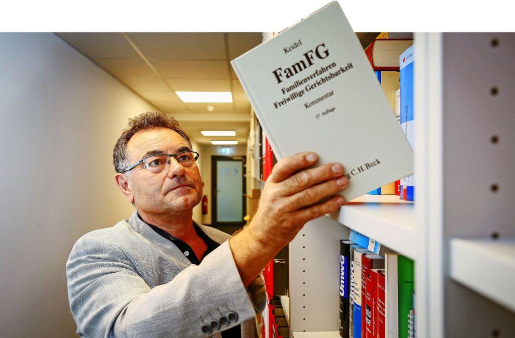 Soziales Engagement hat Gerhard Binder auch in seinen fast 40 Berufsjahren in hohem Maß an den Tag gelegt. Foto: factum/Granville