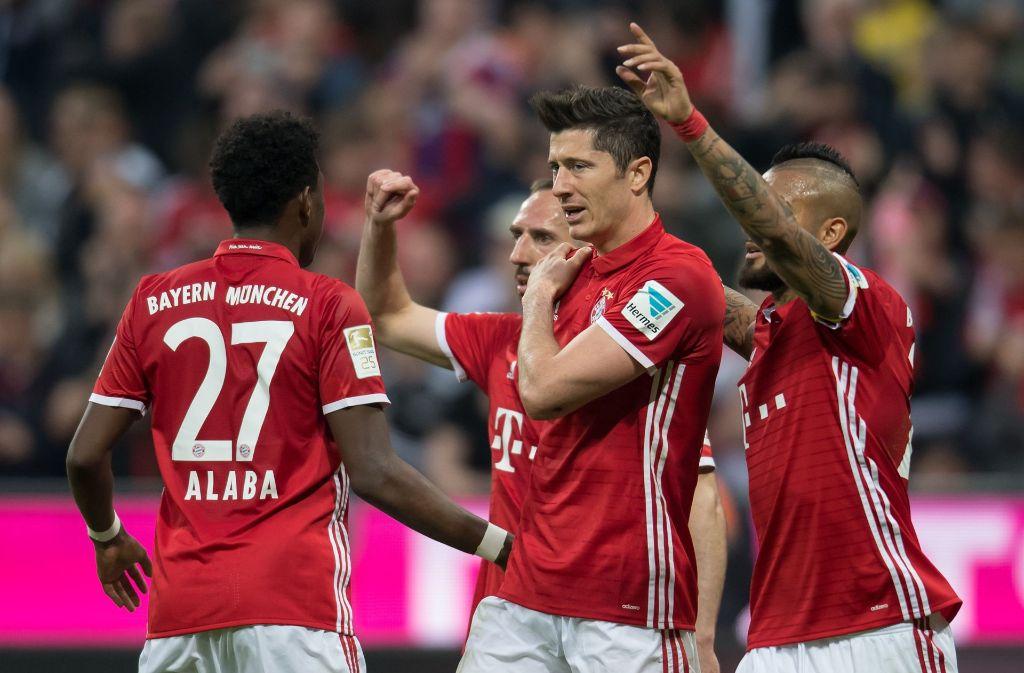 Der FC Bayern hat gegen Dortmund gezeigt, wer die Nummer eins im deutschen Fußball ist. Foto: dpa