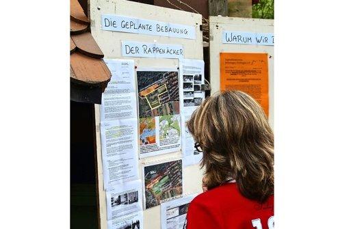 SPD denkt an die   grünen Rappenäcker