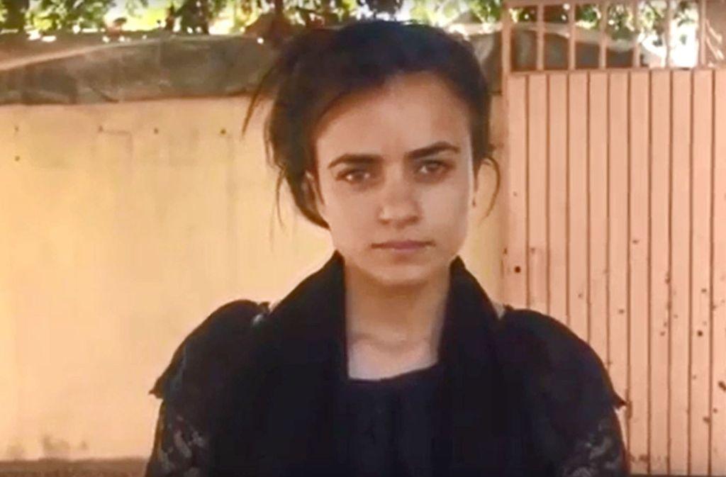 Nach eigenen Angaben war Aschwak H. im August 2014 vom IS im Irak verschleppt worden. Foto: YouTube