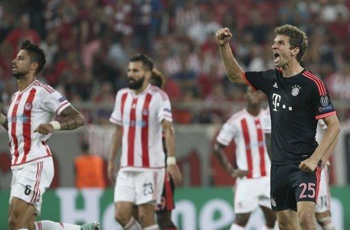 Bayern jubelt in Piräus, Bayer holt Pflichtsieg – Ter Stegen düpiert